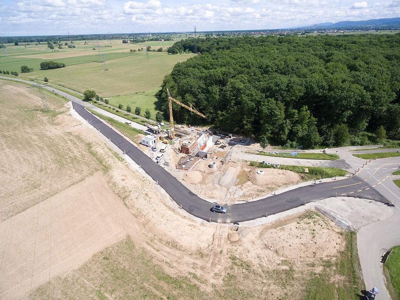 Baustelle Wasserpark Nummer 2